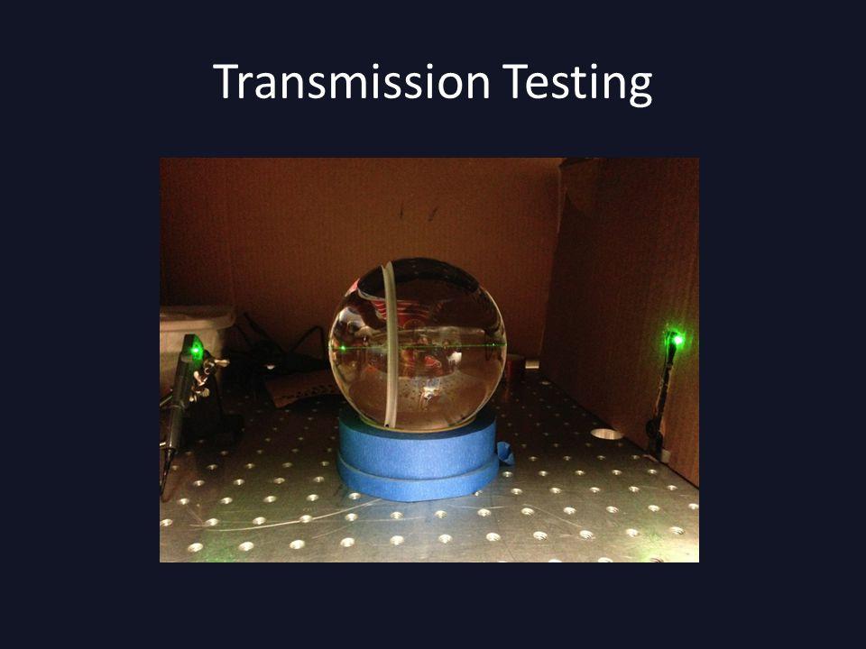 Transmission Testing