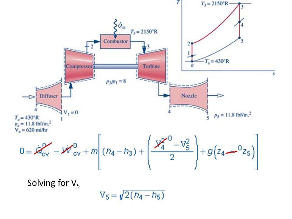 Solving for V 5