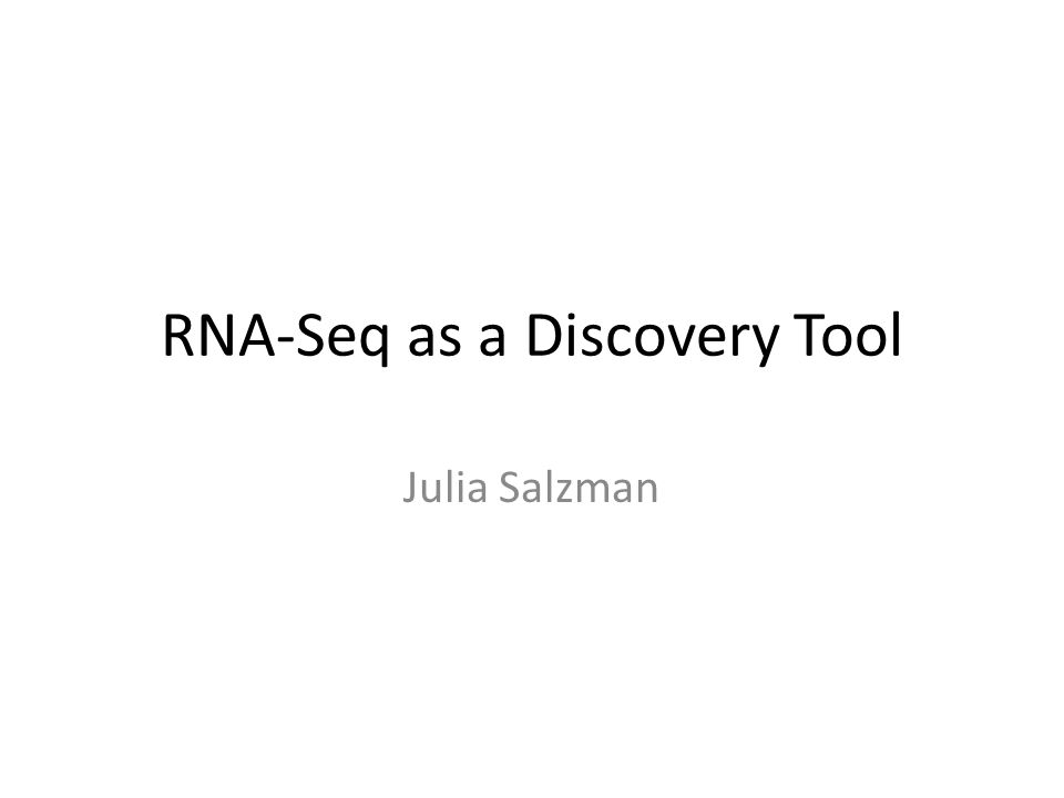 Potential Biological Mechanisms for RNA Rearrangements DNA Rearrangement RNA rearrangement Trans-splicing Template switching PCR artifact