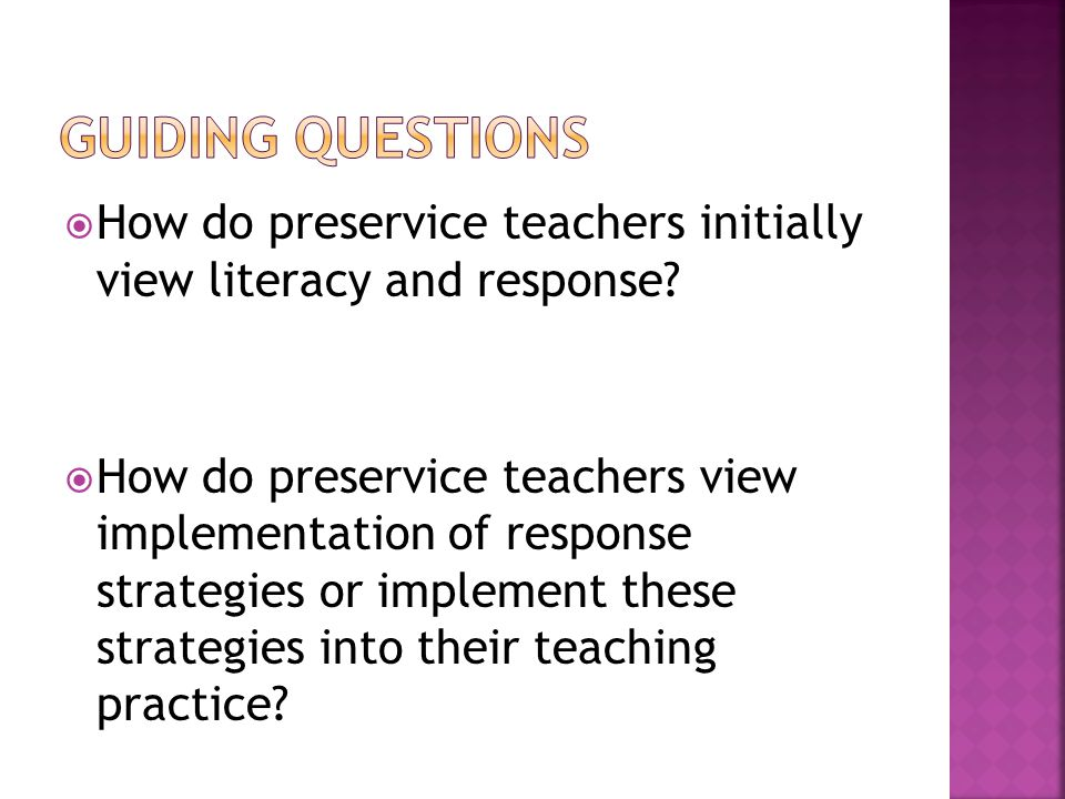 If pre-service teachers, as the findings above suggest, do not enjoy reading; if they conceptualizing reading as the practice of repeating rather than engaging with a text; what are the long-term implications for their practice as literacy educators.