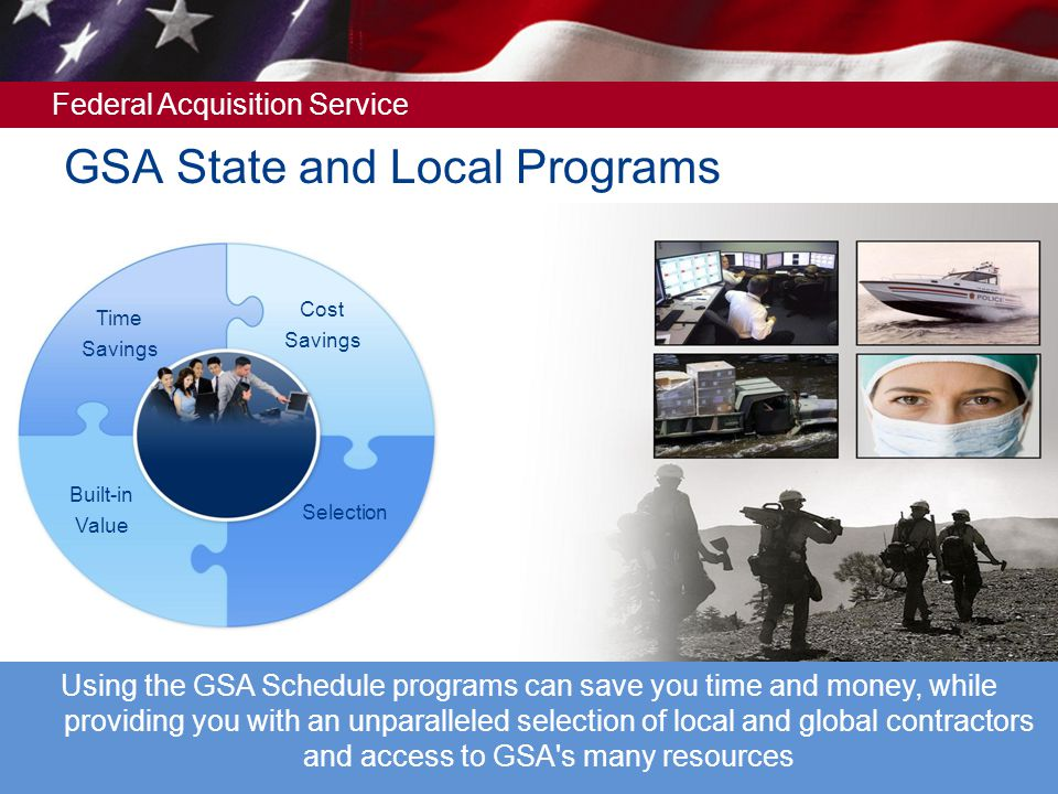 Federal Acquisition Service A request must be submitted in writing on official letterhead of your particular state or local government organization The name of the state or local organization must be on the letterhead The letter must be dated and signed by an approving official who will serve as the point of contact (POC) for any and all individuals who may request a GSA Advantage.