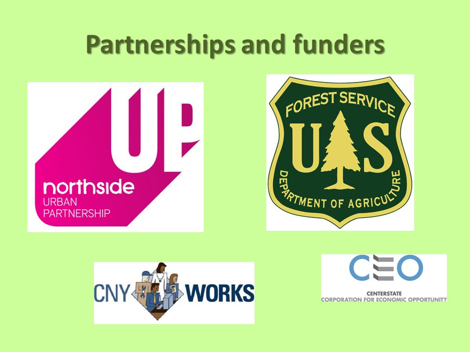 Partnerships and funders