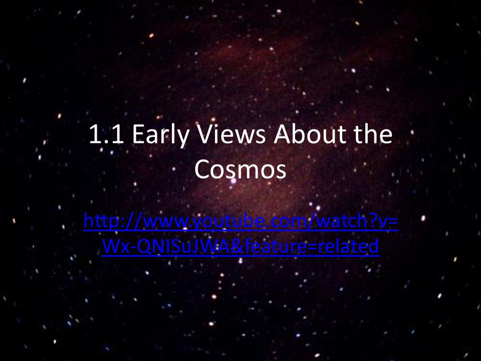 Tracking Cosmological Events Very special annual events in ancient times were solstices and equinoxes.