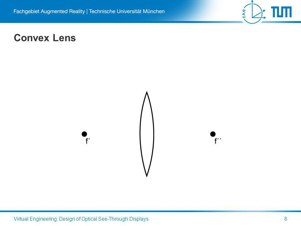 Convex Lens Virtual Engineering: Design of Optical See-Through Displays8