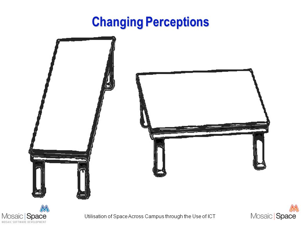 Utilisation of Space Across Campus through the Use of ICT Changing Perceptions