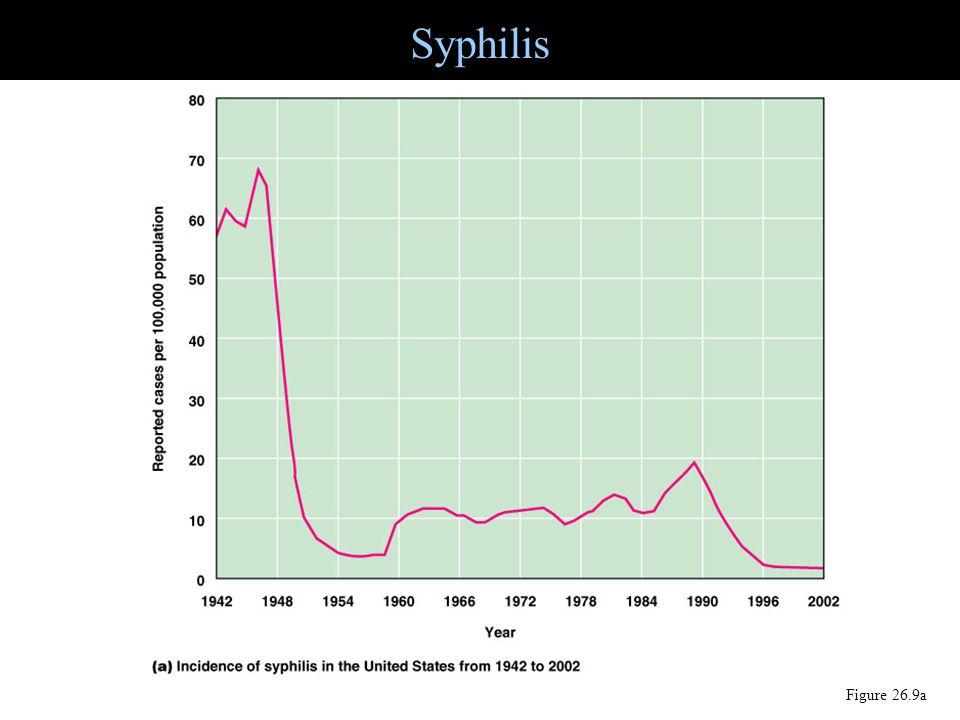 Figure 26.9a Syphilis