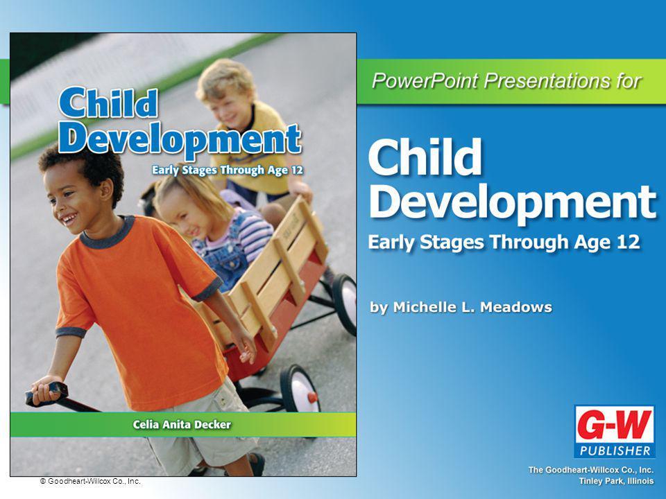 © Goodheart-Willcox Co., Inc.What Is Child Development.