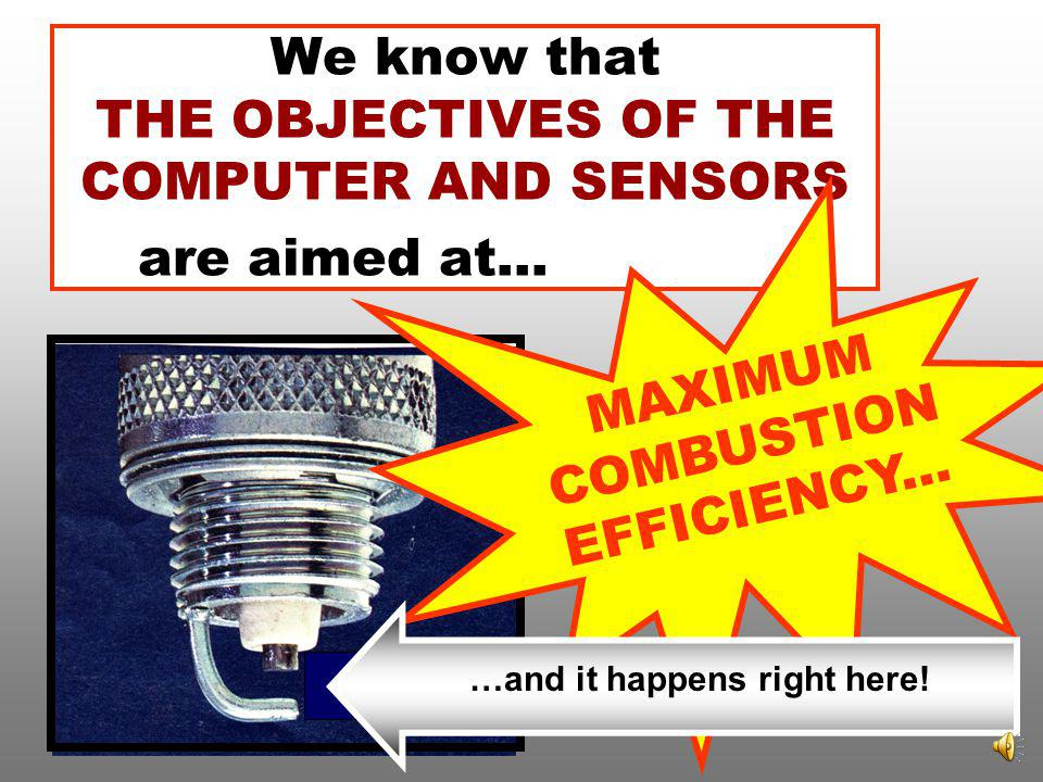 We know that THE OBJECTIVES OF THE COMPUTER AND SENSORS are aimed at....