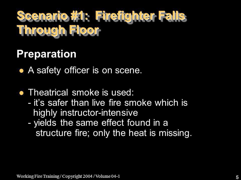Working Fire Training / Copyright 2004 / Volume 04-1 26 Department Discussion Calling for a Mayday should be as routine and as practiced as calling for a pike pole.