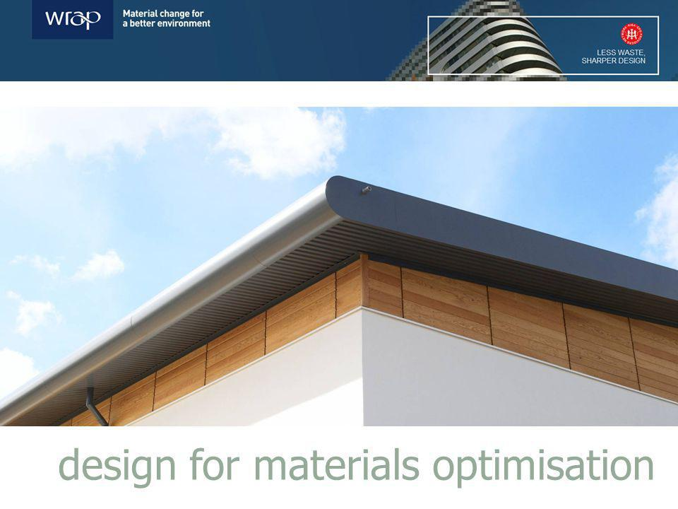 design for materials optimisation