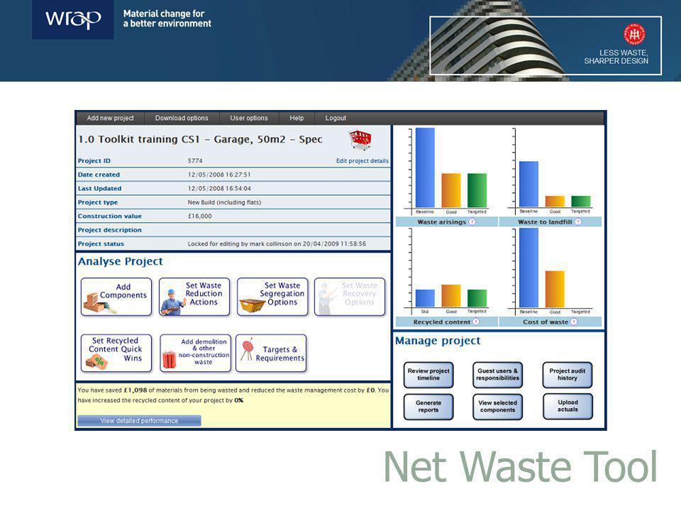 Net Waste Tool