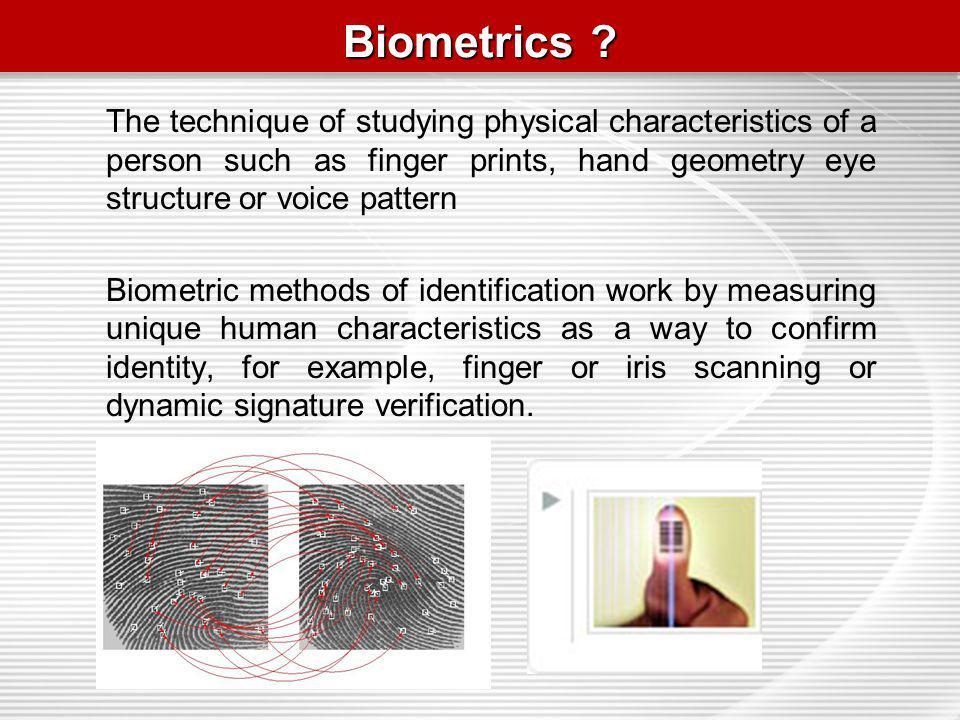 Biometrics .