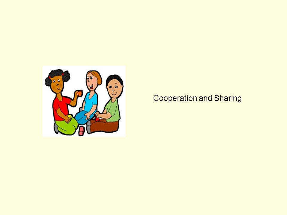 Cooperation and Sharing