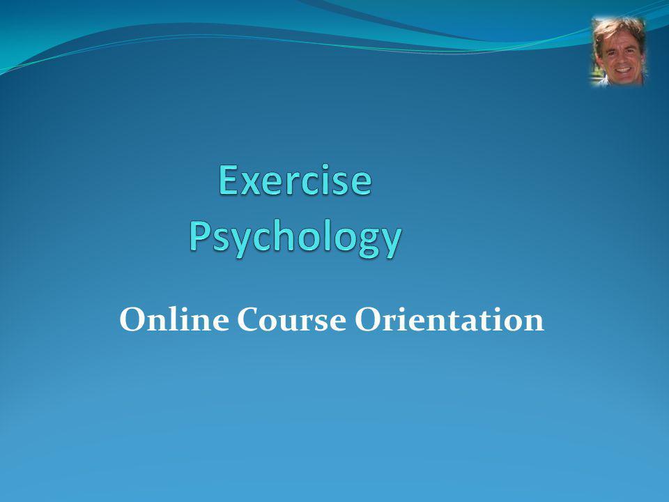 Online Course Orientation