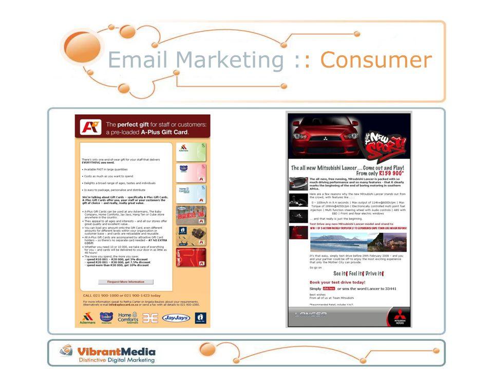 Email Marketing :: Consumer