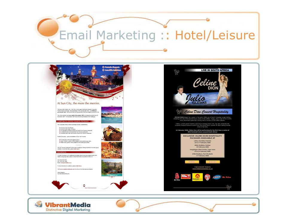 Email Marketing :: Hotel/Leisure