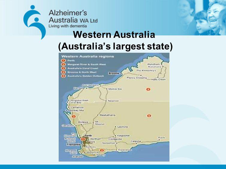 Western Australia (Australias largest state)