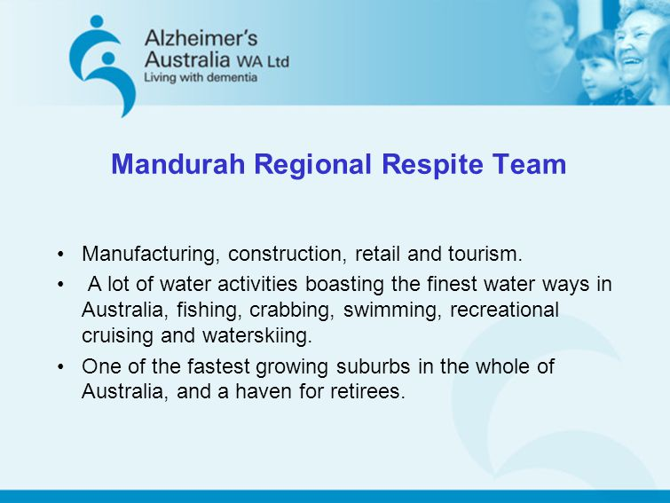 Manufacturing, construction, retail and tourism. A lot of water activities boasting the finest water ways in Australia, fishing, crabbing, swimming, r