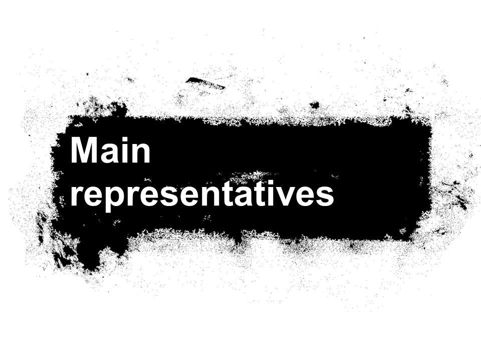 Main representatives