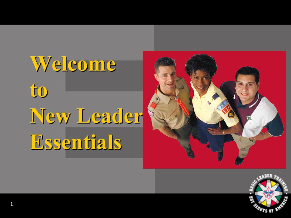 1 Welcome to New Leader Essentials