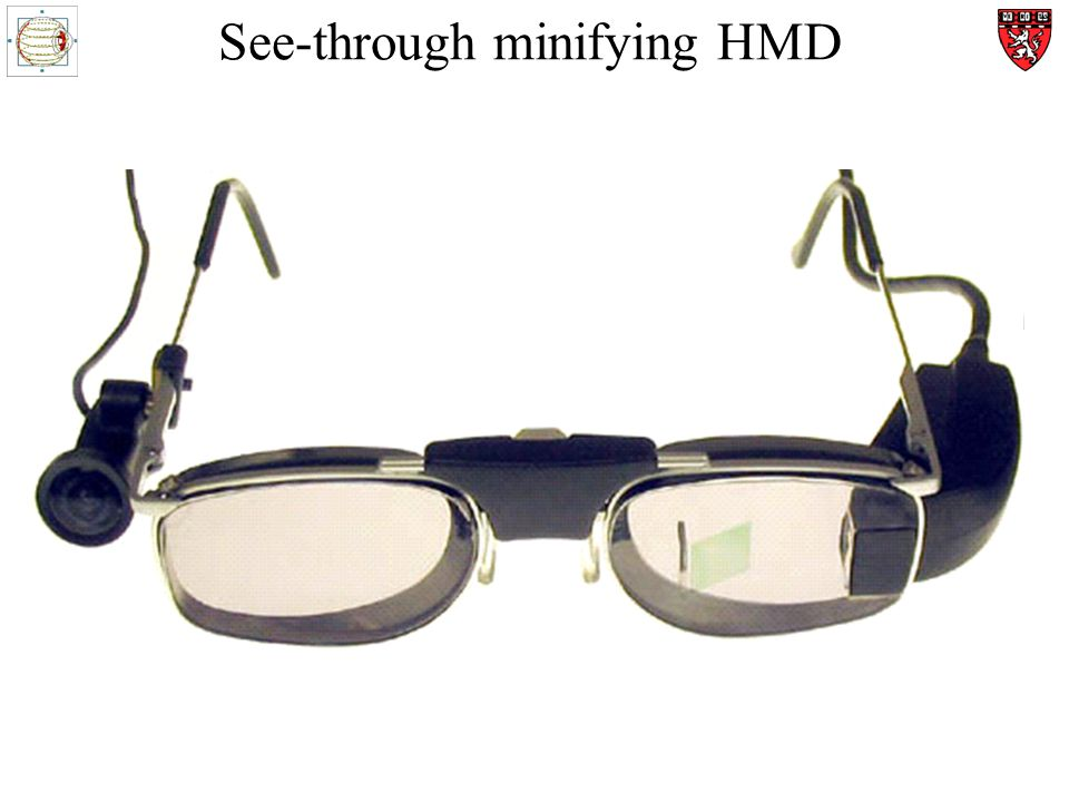 See-through minifying HMD a a