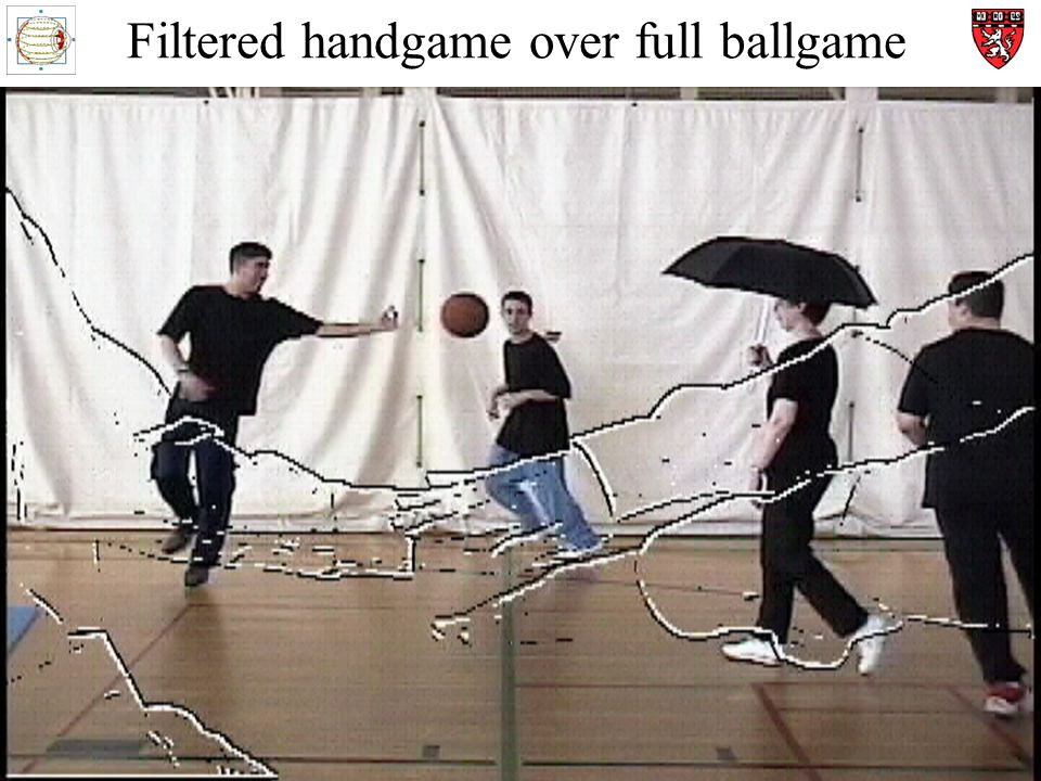 Filtered handgame over full ballgame