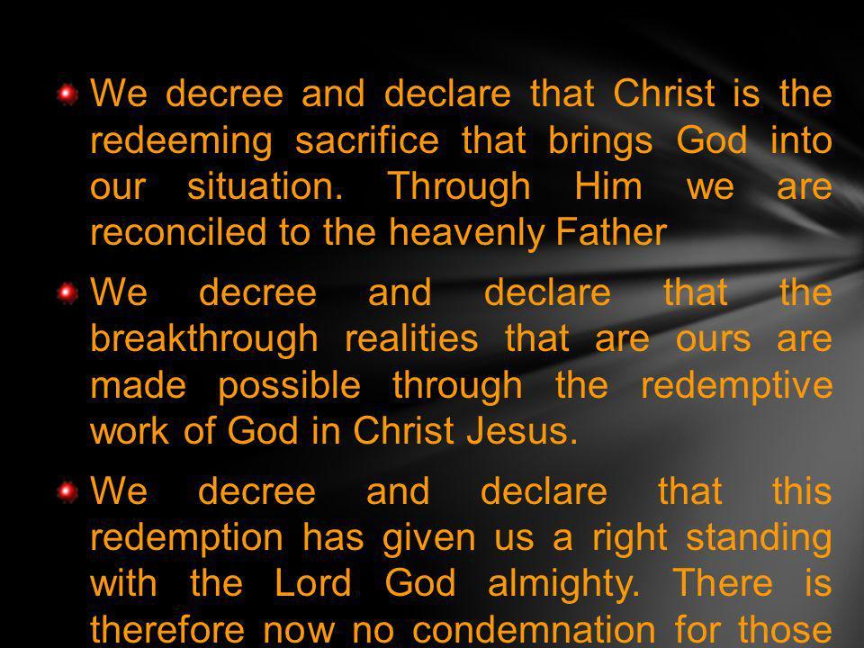 The declarations