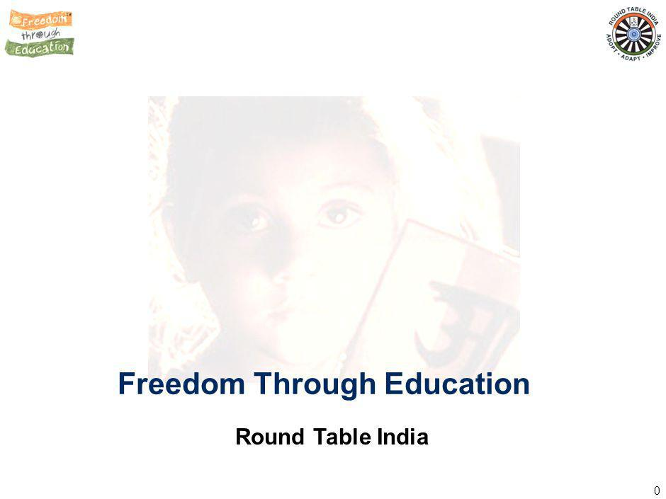 0 Freedom Through Education Round Table India