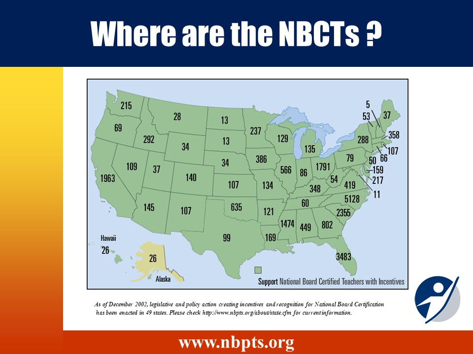 Where are the NBCTs .