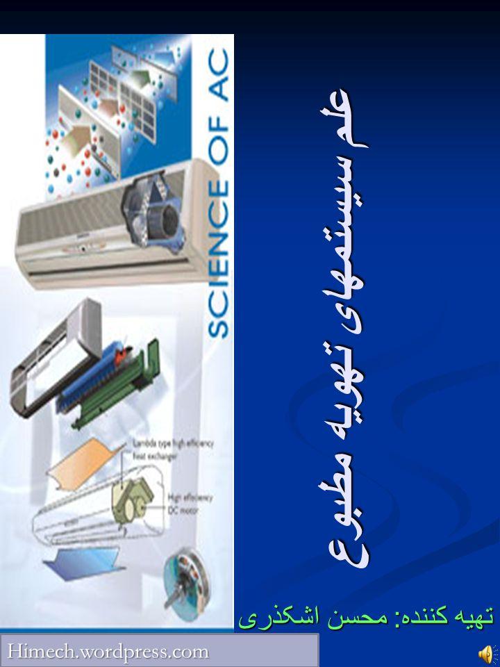 علم سیستمهای تهویه مطبوع تهیه کننده : محسن اشکذری Himech.wordpress.com