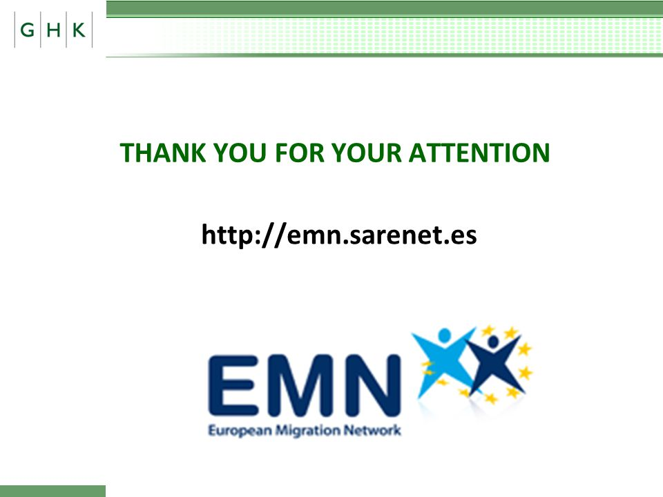 THANK YOU FOR YOUR ATTENTION http://emn.sarenet.es