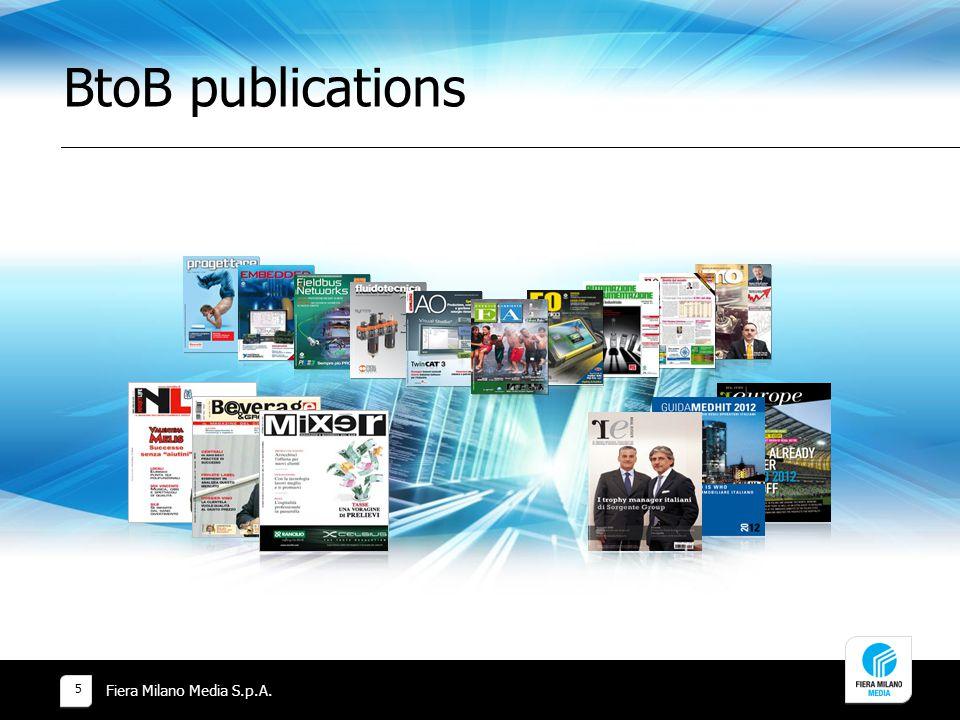 BtoB publications Fiera Milano Media S.p.A. 5