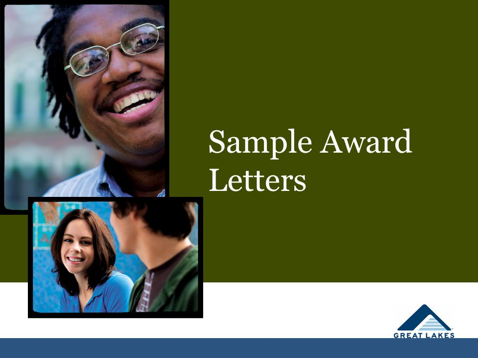 How is Financial Aid Awarded Sample Award Letters