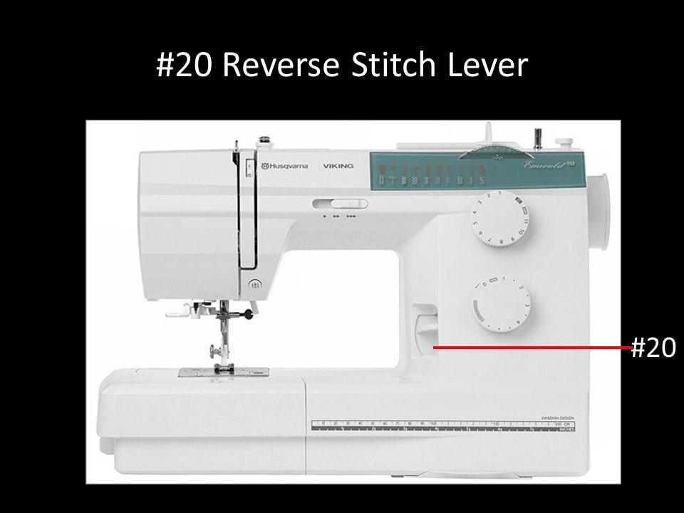 #20 Reverse Stitch Lever #20