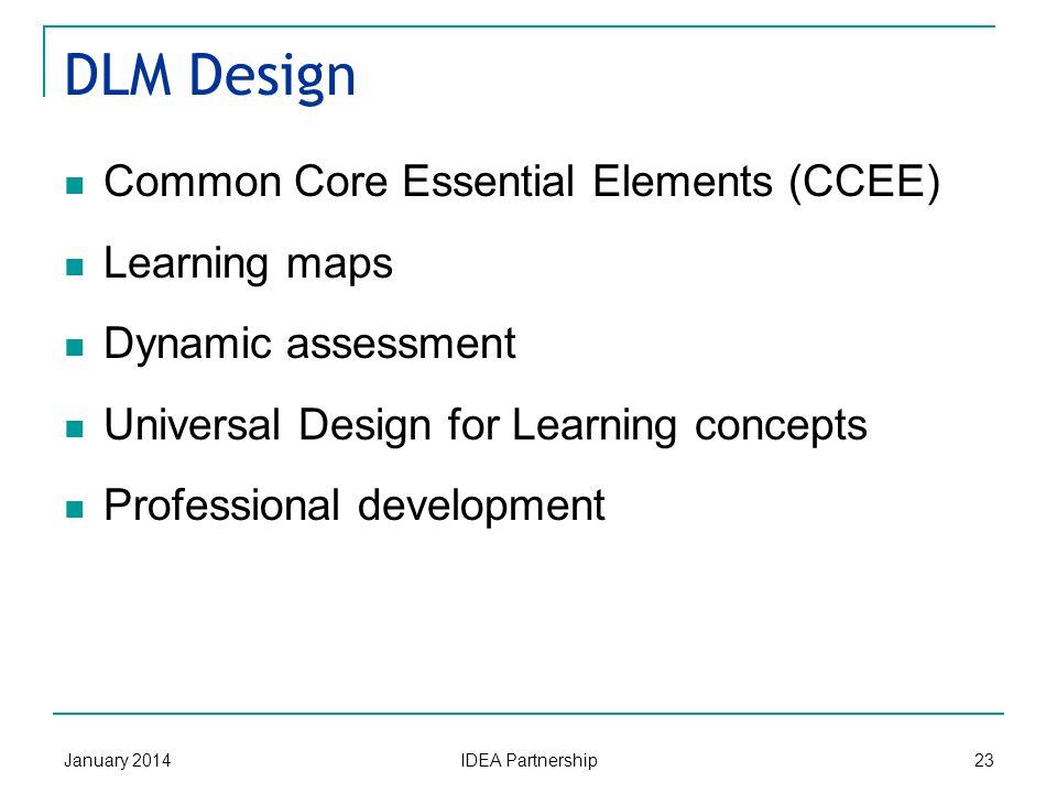 DLM States x xx x xxxxxxxxxx Dynamic Learning Maps Alternate Assessment System Consortium January 2014 IDEA Partnership 22