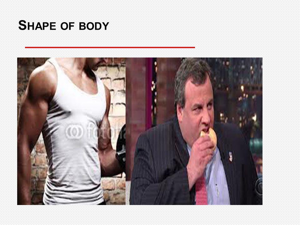 S HAPE OF BODY