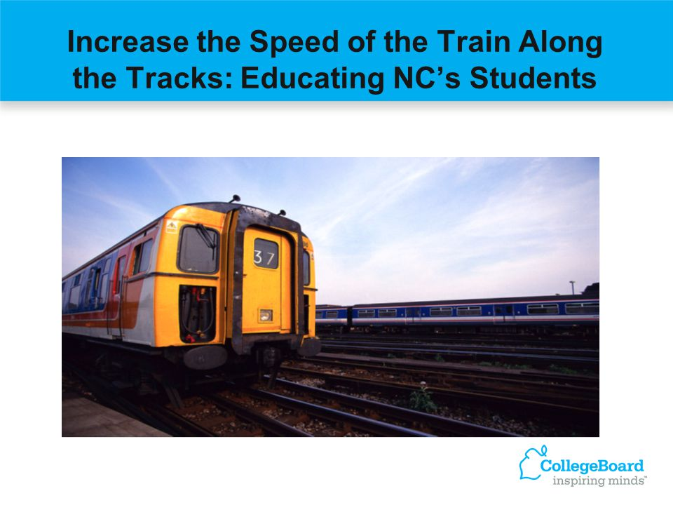 Increase the Speed of the Train Along the Tracks: Educating NCs Students