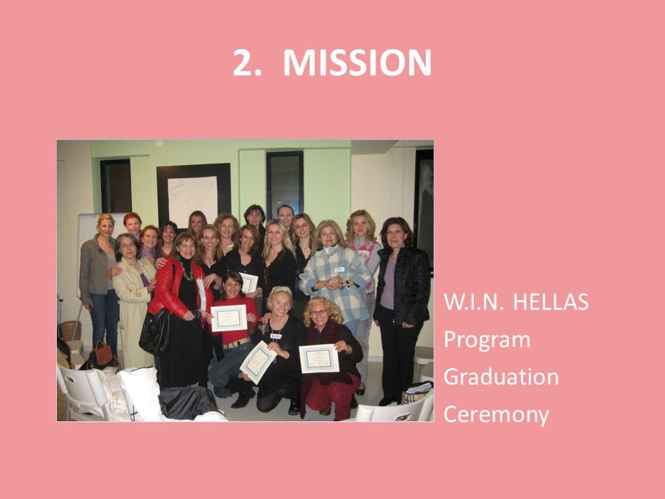 2. MISSION W.I.N. HELLAS Program Graduation Ceremony