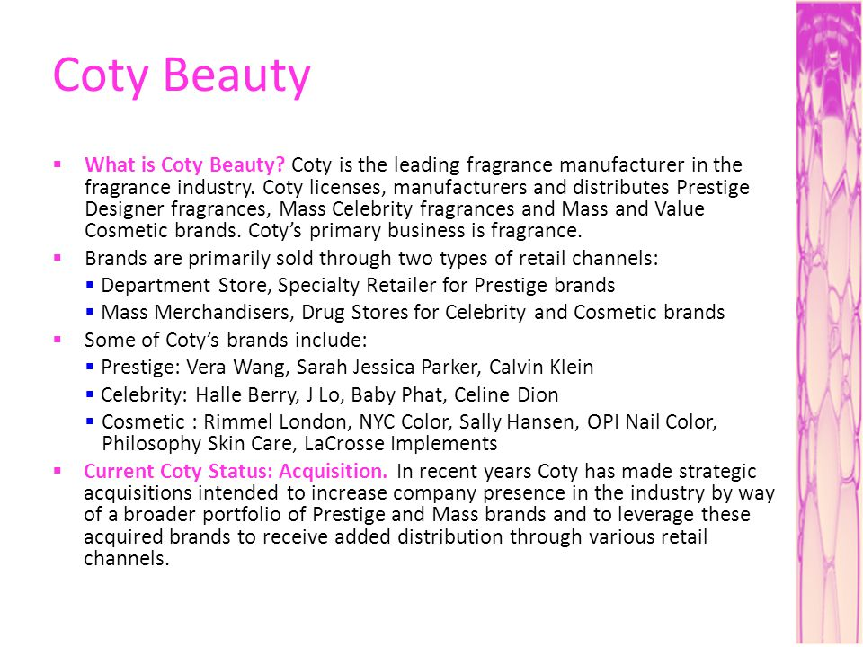 Coty Beauty What is Coty Beauty.