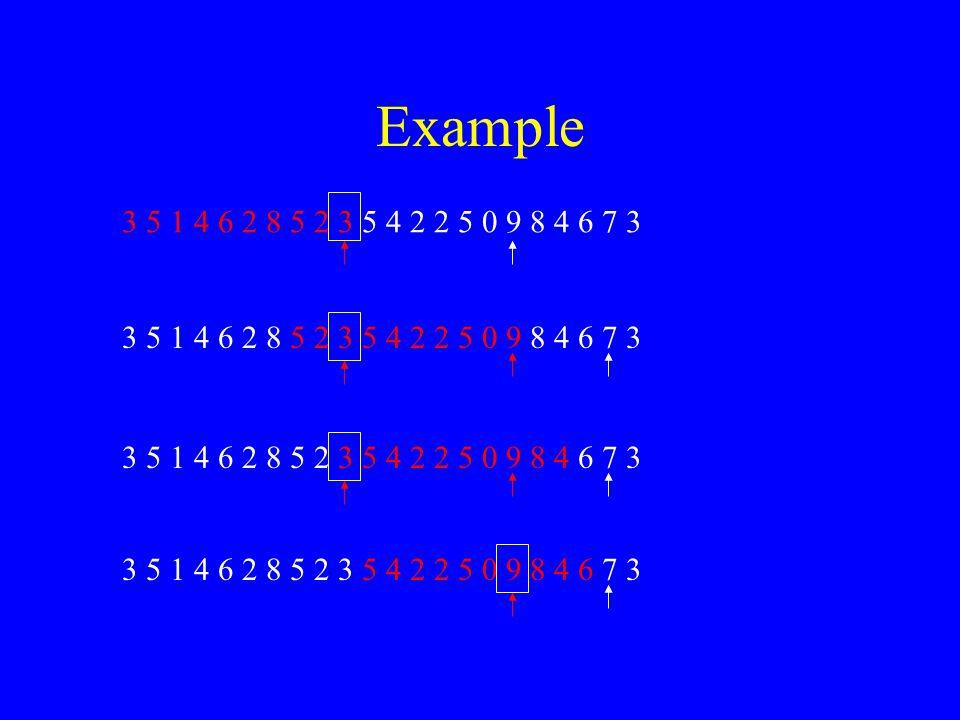 Example 3 5 1 4 6 2 8 5 2 3 5 4 2 2 5 0 9 8 4 6 7 3