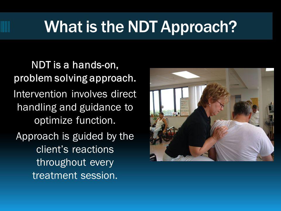 Neuro-Developmental Treatment Association WWW.NDTA.org info@NDTA.org 1-800-869-9295 1540 S.