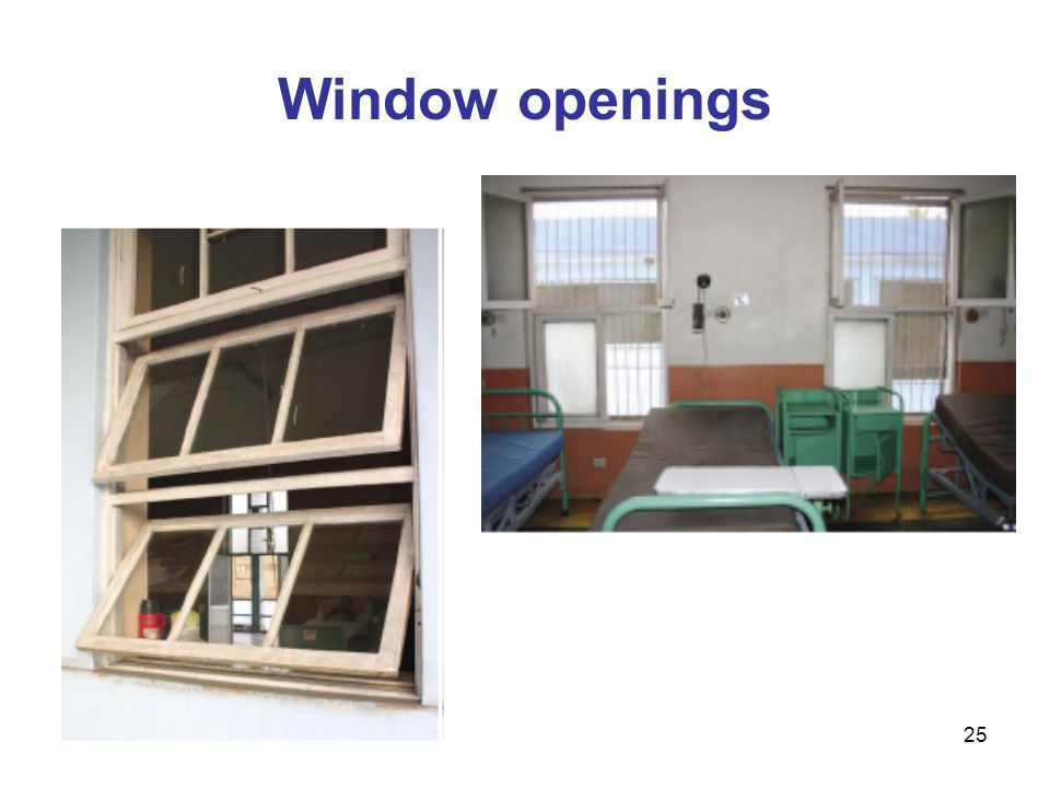 25 Window openings