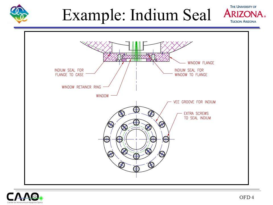 OFD 4 Example: Indium Seal