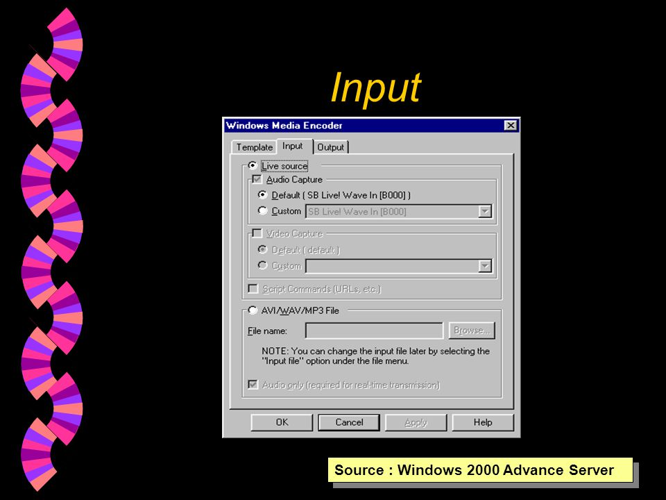 1. Quick Start Source : Windows 2000 Advance Server