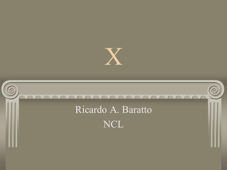 X Ricardo A. Baratto NCL