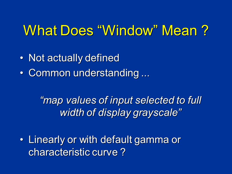 What Does Window Mean .