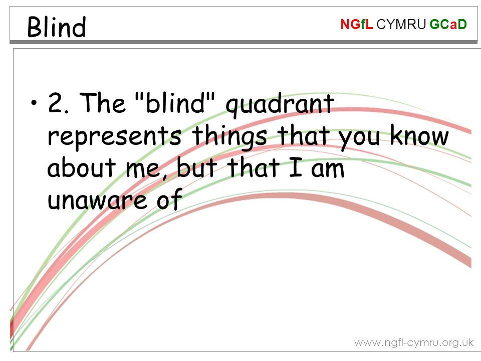 NGfL CYMRU GCaD www.ngfl-cymru.org.uk Blind 2.