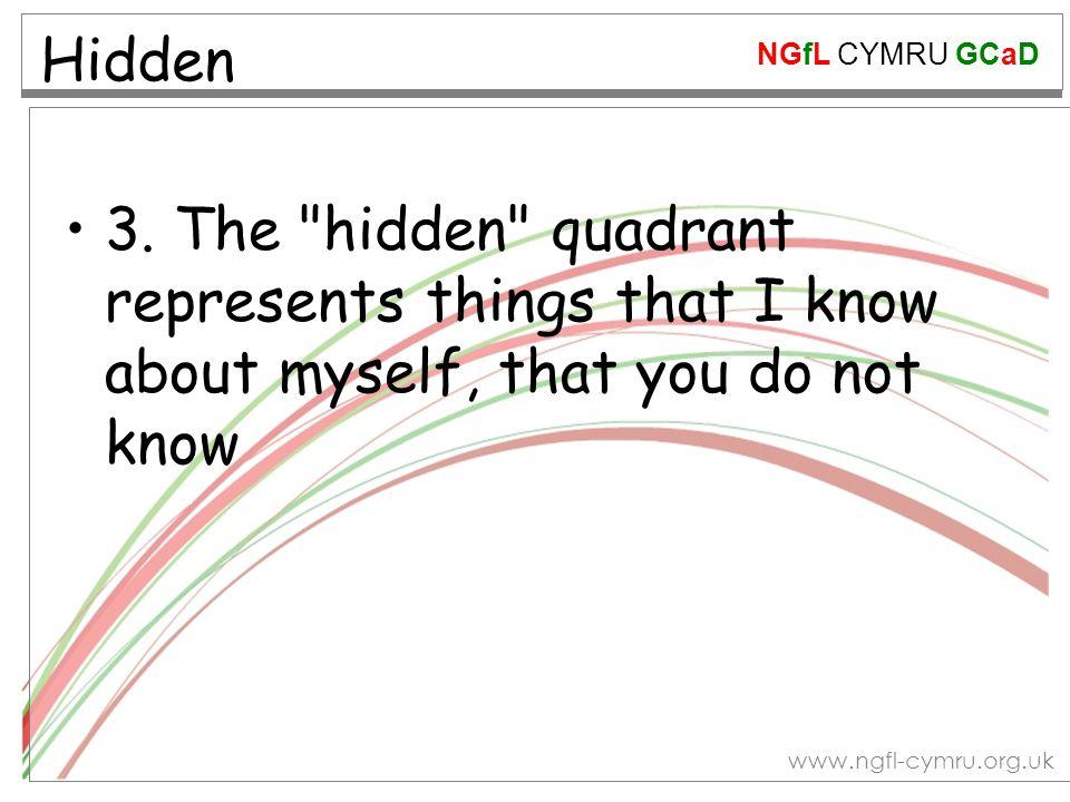 NGfL CYMRU GCaD www.ngfl-cymru.org.uk Hidden 3.