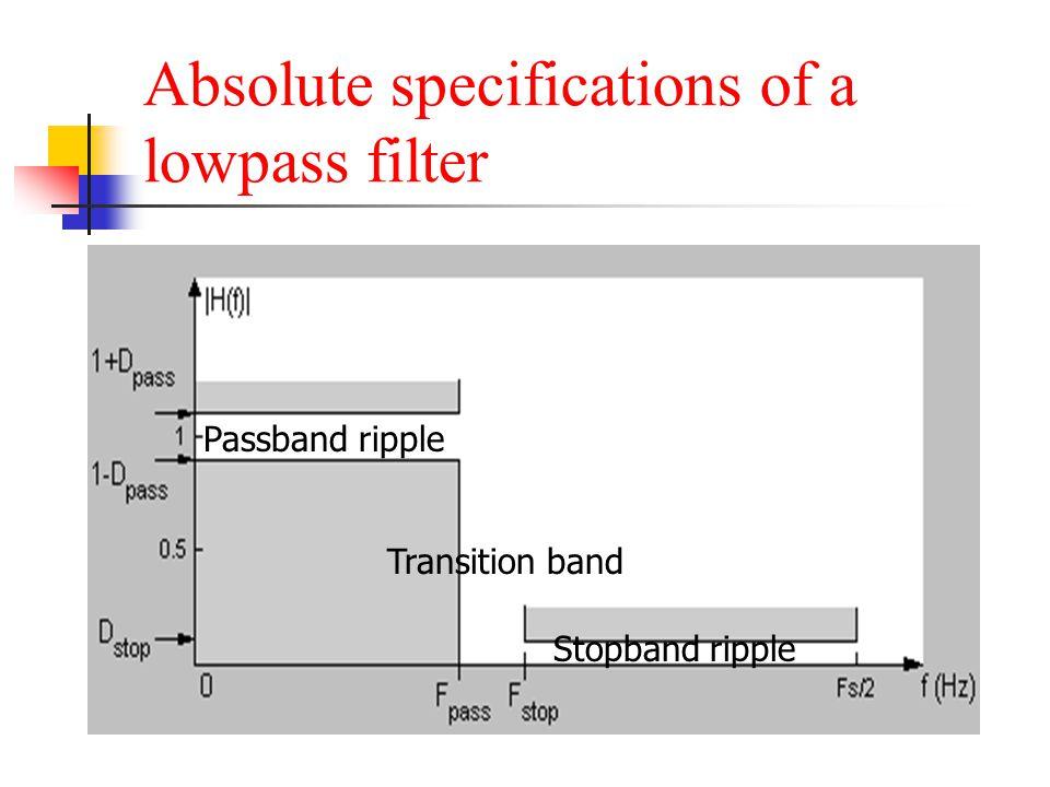 Other Examples of equiripple Ex7.27: digital differentiator design using remez function Ex7.28: digital Hilbert Transformer design using remez function