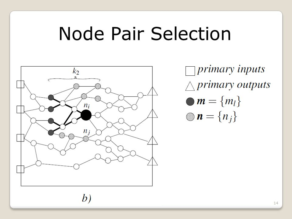 Node Pair Selection 14